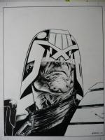 Greg Staples Dredd artwork Comic Art