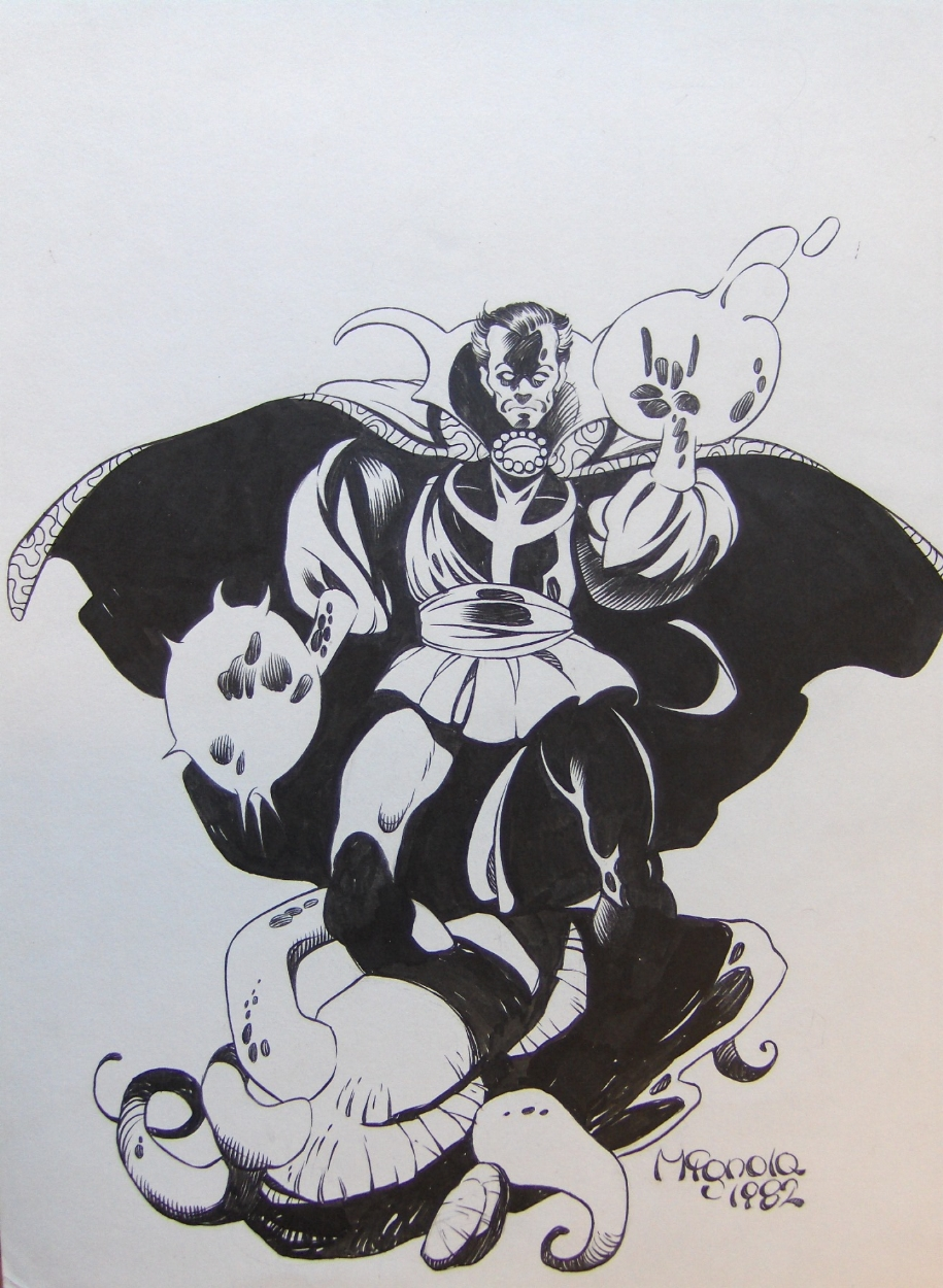 1982 - Dr Strange by Mike Mignola Comic Art
