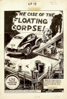 CRIME PATROL 14 COMPLETE STORY (1949, EC, FELDSTEIN) Comic Art