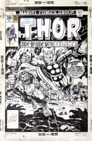 THOR #253 JACK KIRBY COVER! Comic Art