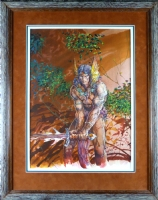 BARRY SMITH CONAN SAGA PAINTING Comic Art