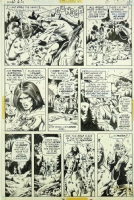 CONAN #21 Page 14 (1972, Barry Windsor-Smith) Comic Art