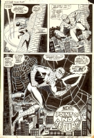 AMAZING SPIDER-MAN #69 PAGE 20 2/3 SPLASH (1969, JOHN ROMITA / JIM MOONEY ) Comic Art