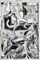 AMAZING SPIDER-MAN #146 SPLASH (1975, ANDRU / ROMITA) Comic Art