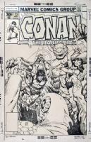 CONAN #73 COVER ( 1977, GIL KANE , ERNIE CHAN ) Comic Art