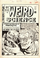 WEIRD SCIENCE #12 (#1) COVER! ( A FELDSTEIN FIRST ISSUE CLASSIC! ) Comic Art