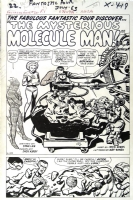 FANTASTIC FOUR #20 PAGE 1 TITLE SPLASH ( 1963, JACK  Comic Art