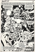 Thor #134 Magnificent Galactus Splash and 4th appearance ( 1966, Jack Kirby ) Part of the complete 16 page story Comic Art