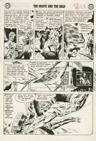 BRAVE AND THE BOLD #36 PAGE 10 ( 1961, Joe Kubert ) 3rd SILVER AGE HAWKMAN! Comic Art