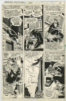 AMAZING SPIDER-MAN #194 PAGE 2 1ST BLACK CAT!  ( 1979, KEITH POLLARD ) Comic Art