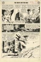 BRAVE AND THE BOLD #43 PAGE 14 ( 1962, JOE KUBERT ) Comic Art