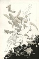 JUNGLE GIRL SEASON 2 #3 COVER ( 2009, FRANK CHO ) Comic Art
