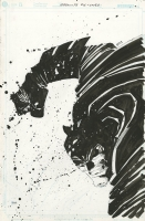 ABSOLUTE DARK KNIGHT COVER ( 2006, FRANK MILLER ) FROM THE COLLECTION OF FRANK MILLER Comic Art