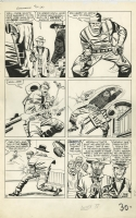 GUNSMOKE WESTERN #77 FINALE PAGE ( 1963, JACK KIRBY ) RARE KIRBY WESTERN ART Comic Art