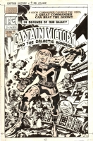 CAPTAIN VICTORY #9 COVER ( 1983, JACK KIRBY )  Comic Art