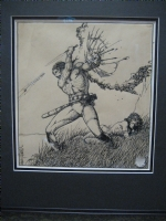 BARRY WINDSOR SMITH CONAN ART Comic Art