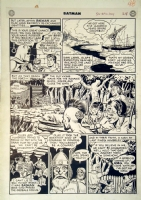 BATMAN #52 PAGE 10 (1949, BOB KANE) Comic Art