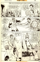 SUPERMAN VS. GREEN LANTERN ACTION COMICS #437 PAGE 16 Comic Art