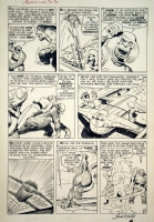 FANTASTIC FOUR #13 PAGE - JACK KIRBY & STEVE DITKO! Comic Art