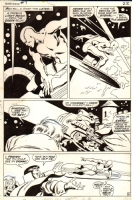 SILVER SURFER 7 PAGE 18 (1969) Comic Art