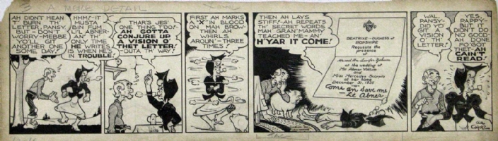 L'IL ABNER 12/18/1935 DAILY Comic Art