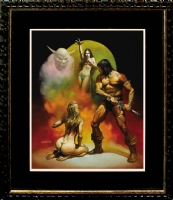 BORIS VALLEJO PAINTED COVER FOR CONAN THE FREEBOOTER Comic Art