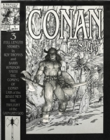 BARRY SMITH CONAN SAGA 1 COVER STUDY Comic Art
