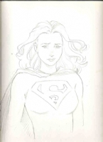 Terry Moore: Supergirl Comic Art
