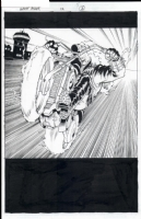 Ghost Rider #12 pg 3 Comic Art