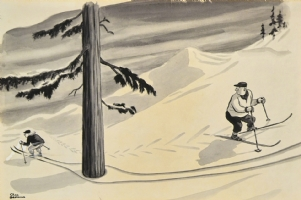 Charles Addams Comic Art