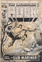 Herb Trimpe Comic Art