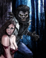 Mark Spears Monsters - The Wolfman Comic Art