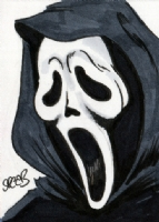 Scream Guy Ghost Face by Spears Comic Art