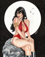 Vampirella - Mark Spears Comic Art