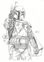 BOBA FETT by Mark Spears Comic Art