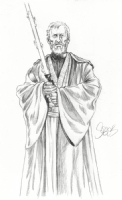 Obi-Wan Kenobi by Mark Spears Comic Art