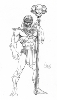 Skeletor by Mark Spears Comic Art