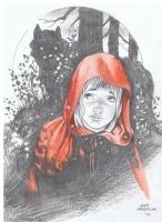 Lan Medina - Fables Bigby & Red Riding Hood Comic Art