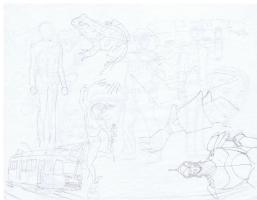 Lan Medina - Fables Bigby & Snow White Comic Art