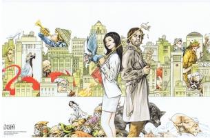 Fables 125 SDCC Print - Mark Buckingham Comic Art