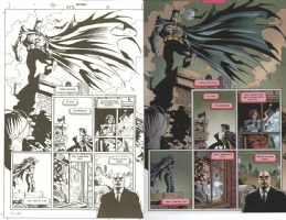 Cariello - Batman # 573 Pg. 21 Comic Art