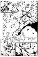 Lawson - TMNT Vol. 2 # 4 Pg. 17 Comic Art