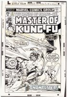 Master Of Kung Fu #31 Comic Art
