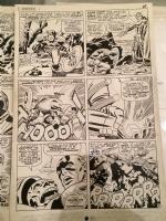 Jack Kirby Tales of Suspense Comic Art