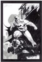 Absolute Batman Hush Cover Art-Jim Lee Comic Art