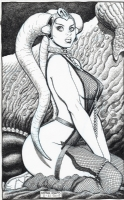 Star Wars: Oola the Twi'lek Dancing Girl-Arthur Adams Comic Art