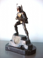 Star Wars, Boba Fett Bronze Statue (Front View)-Randy Bowen Comic Art