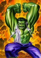 Incredible Hulk by Bruce Timm Comic Art