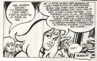 Barbarella-Mysterieuse matin midi et soir-last panel 1971 Comic Art