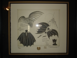 BATMAN - Framed Lithograph - Bob Kane Comic Art